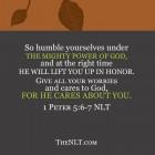 Be Humbled