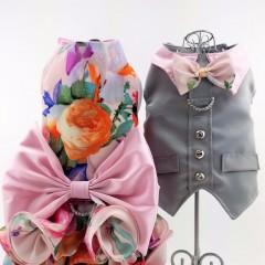 Gardenia Floral Harness Set