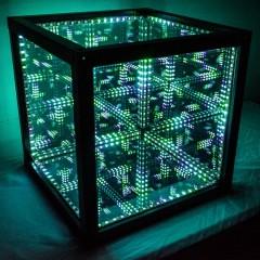 The Trans-Dimensional HyperCube is a Versatile Decor Piece