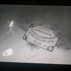 Fairy near Ouija board