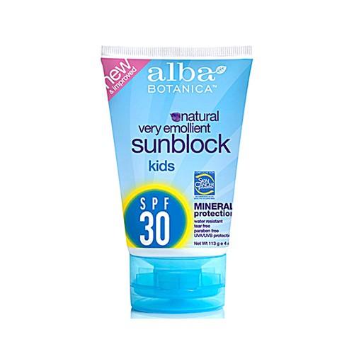 Alba Botanica Natural Sun Block Protection Kids SPF 30