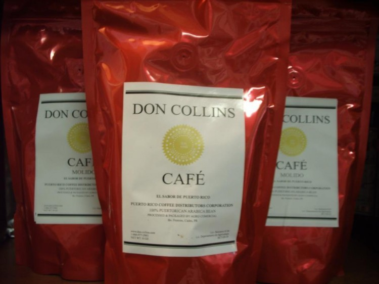 Don Collins Coffee 16oz Bean