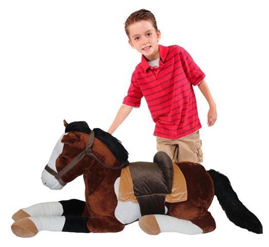 JooJoo Plush 50 Inch Jumbo Horse