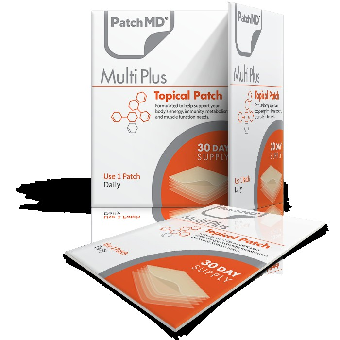 PatchMD Multivitamin Plus Patch, 27 Vitamins, Minerals + Antioxidants