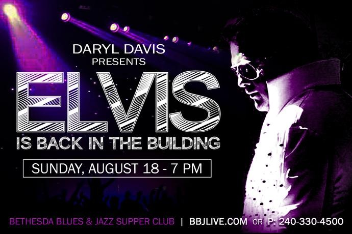 Elvis Is Back In The Building