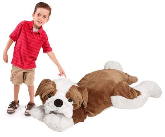 JooJoo Plush 60 Inch Jumbo Bulldog
