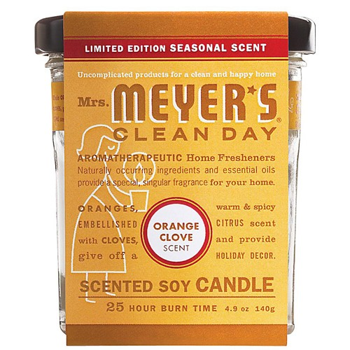 Mrs. Meyers Soy Candle