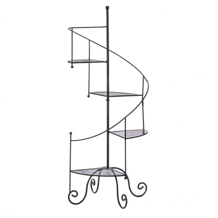 SPIRAL STAIRCASE PLANT STAND image