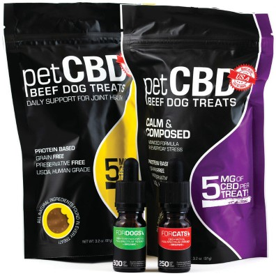 petCBD Beef Dog Treats